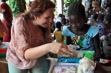 Damaris in Senegal