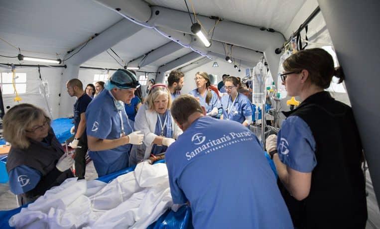 Emergency field hospital