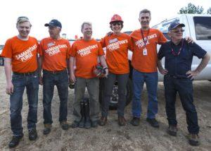 Samaritan's Purse volunteers