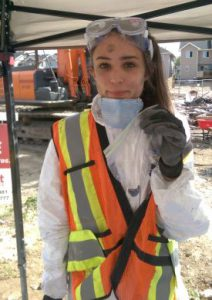 Samaritan's Purse volunteer Kennedy Galloway was able to find the precious heirloom ring of a Fort McMurray resident.