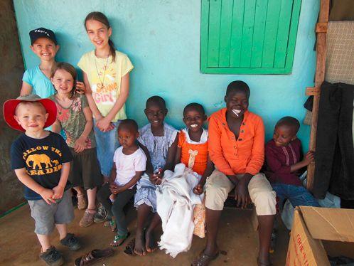 Wiedrick family in Ghana